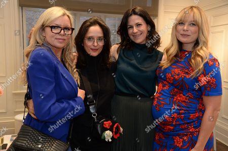 Fru Tholstrup, Suzy Murphy, Martina Batovic and Kate Bryan