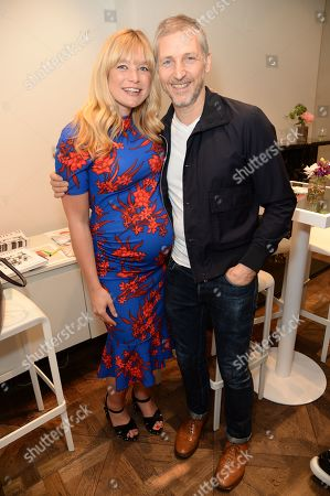 Stock Picture of Kate Bryan and Charming Baker