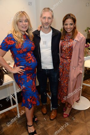 Stock Image of Kate Bryan, Charming Baker and Katy Wickremesinghe