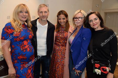 Kate Bryan, Charming Baker, Katy Wickremesinghe, Fru Tholstrup and Suzy Murphy