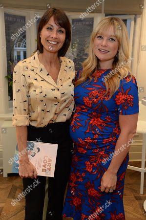 Melanie Sykes and Kate Bryan