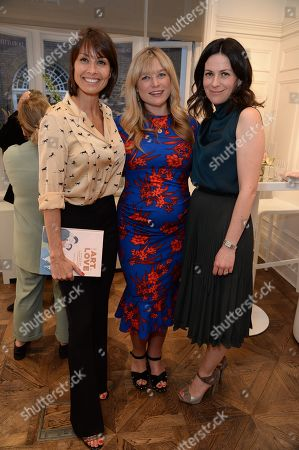 Stock Photo of Melanie Sykes, Kate Bryan and Martina Batovic