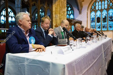 Editorial picture of By-Election Hustings, St John's church, Peterborough, UK - 28 May 2019