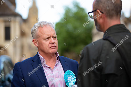 Stock Photo of Brexit Party Candidate Mike Greene.