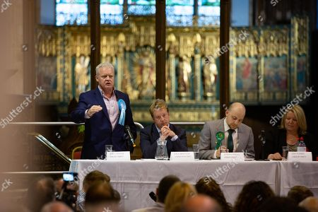 Stock Picture of Brexit Party Candidate Mike Greene.