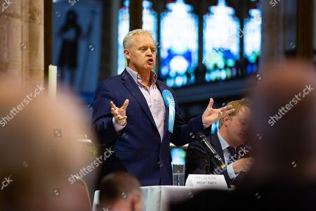 Editorial image of By-Election Hustings, St John's church, Peterborough, UK - 28 May 2019