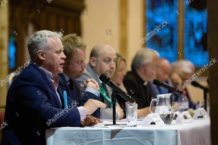 Editorial photo of By-Election Hustings, St John's church, Peterborough, UK - 28 May 2019