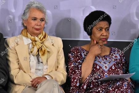 Olga Sanchez Cordero and Phumzile Mlambo-Ngcuka