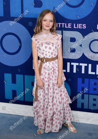 "Ivy George attends the premiere of HBO's ""Big Little Lies"" season two at Jazz at Lincoln Center, in New York"