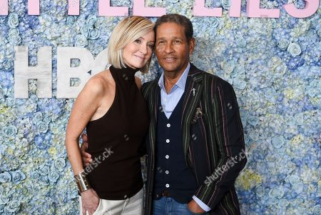 "Hilary Gumbel, Bryant Gumbel. Bryant Gumbel and wife Hilary Gumbel attend the premiere of HBO's ""Big Little Lies"" season two at Jazz at Lincoln Center, in New York"