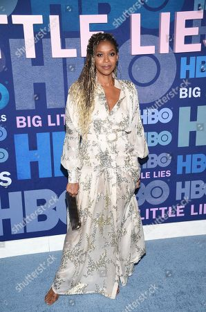 """Merrin Dungey attends the premiere of HBO's """"Big Little Lies"""" season two at Jazz at Lincoln Center, in New York"""
