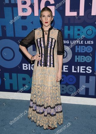"""Lily Rabe attends the premiere of HBO's """"Big Little Lies"""" season two at Jazz at Lincoln Center, in New York"""