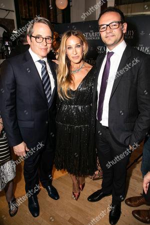 Matthew Broderick (Mark), Sarah Jessica Parker and Simon Friend (Producer)