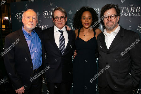 Jim Norton (Norman), Matthew Broderick (Mark), Rosalind Eleazar (Angela) and Kenneth Lonergan (Author)