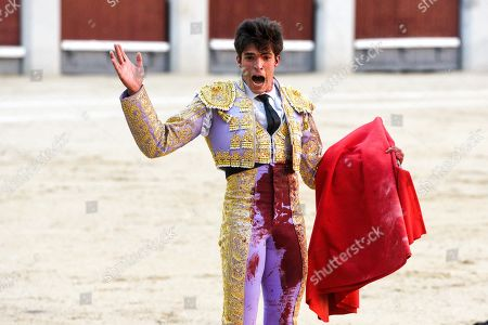 Stock Picture of Spanish matador Angel Sanchez