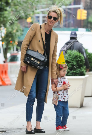 Nicky Hilton Rothschild and her daughter Lily Grace Victoria Rothschild