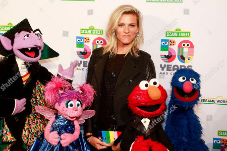 Lindsay Shookus attends the Sesame Workshop's 50th anniversary benefit gala at Cipriani Wall Street, in New York