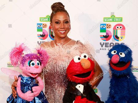 Holly Robinson Peete attends the Sesame Workshop's 50th anniversary benefit gala at Cipriani Wall Street, in New York