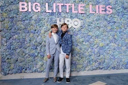 Stock Photo of Cameron Crovetti and Nicholas Crovetti