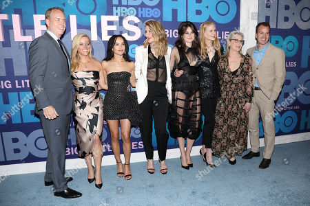 Bob Greenblatt, Reese Witherspoon, Zoe Kravitz, Laura Dern, Shailene Woodley, Nicole Kidman and Meryl Streep