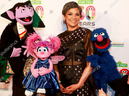 Sonia Manzano attends the Sesame Workshop's 50th anniversary benefit gala at Cipriani Wall Street, in New York