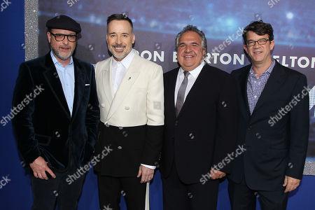 Matthew Vaughn, David Furnish, Jim Gianopulos, Wyck Godfrey