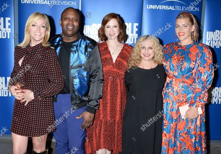 Jane Krakowski, Tituss Burgess, Ellie Kemper, Carol Kane and Busy Philipps