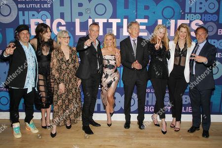 Nathan Ross, Shailene Woodley, Meryl Streep, Jean-Marc Vallee, Reese Witherspoon, David E. Kelley (Director), Nicole Kidman, Laura Dern, Gregg Fienberg
