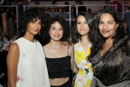 Poorna Jagannathan, Ilana Glazer, Abbi Jacobson and Sarita Choudhury