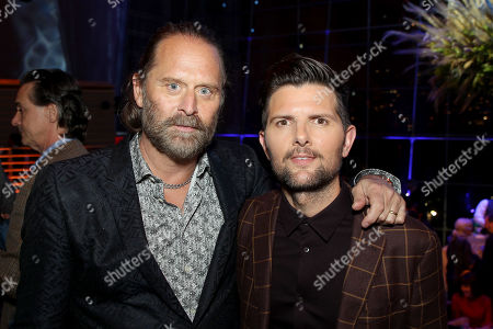Jeffrey Nordling and Adam Scott