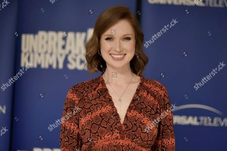 """Ellie Kemper attends the """"Unbreakable Kimmy Schmidt"""" FYC event at Upright Citizens Brigade Theatre, in Los Angeles"""