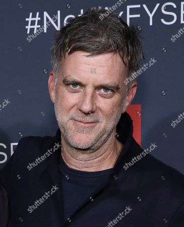 """Stock Photo of Paul Thomas Anderson attends the Adam Sandler: 100% Fresh"""" FYC event at Raleigh studios on Wed, in Los Angeles"""