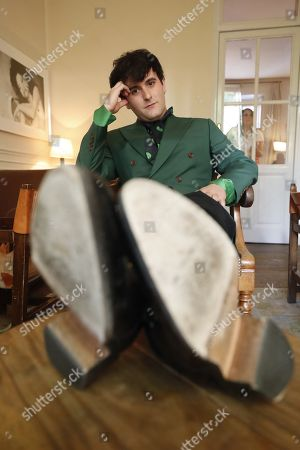 Spanish designer Alejandro Gomez Palomo, known as Palomo Spain, poses for a portrait in Madrid, Spain, 29 May 2019 (issued 30 May 2019). The designer will publish his first book, an autobiography, in which he talks about his meteoric rise to fame.