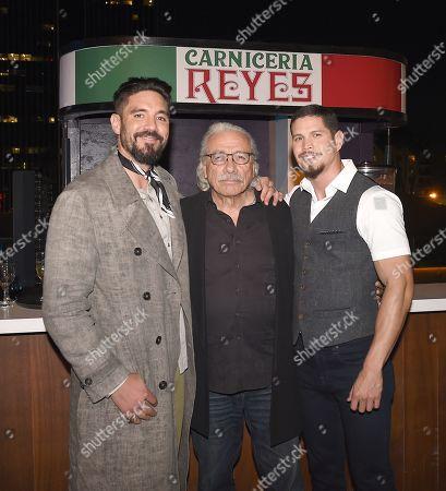 J D Pardo, Clayton Cardenas, Edward James Olmos