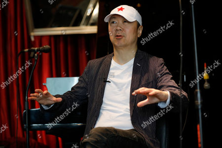 Editorial photo of Chinese rock singer Cui Jian interviewed in Beijing, China - 15 May 2019