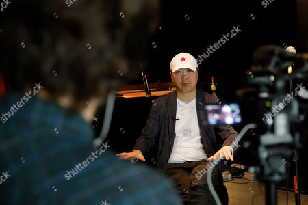 Stock Picture of Chinese rock star Cui Jian speaks during an interview at the East Shore jazz bar in Beijing, China, 15 May 2019 (issued 30 May 2019). Chinese rock star Cui Jian is the writer of 'Yiwusuoyou', a song that became the 'anthem' of the Tiananmen protests in 1989.