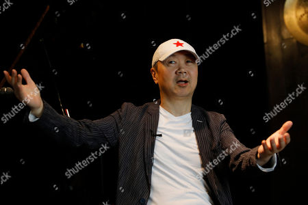 Chinese rock star Cui Jian speaks during an interview at the East Shore jazz bar in Beijing, China, 15 May 2019 (issued 30 May 2019). Chinese rock star Cui Jian is the writer of 'Yiwusuoyou', a song that became the 'anthem' of the Tiananmen protests in 1989.