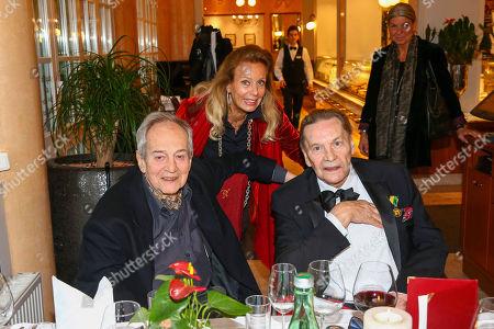 Otto Schenk, Duchess Serra di Cassano, Helmut Berger