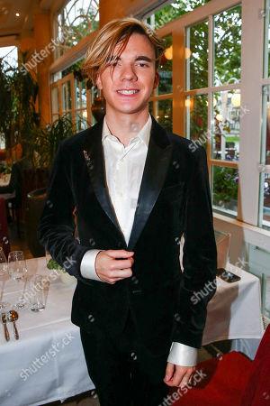 Star violinist Yury Revich, Helmut Berger