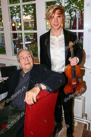Otto Schenk, star violinist Yury Revich, Helmut Berger