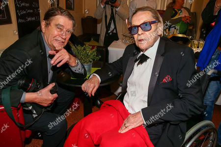 Stock Picture of Roger Fritz, Helmut Berger