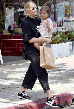 Ashlee Simpson and daughter Jagger Snow Ross