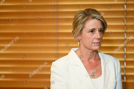 Deputy Leader of the Opposition in the Senate Kristina Keneally attends a press conference at Parliament House in Canberra, Australian Capital Territory, Australia, 30 May 2019. The 46th parliament is expected to open in the first week of July 2019.
