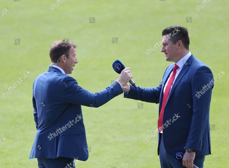 Former England captain Mike Atherton and Former South Africa captain Graham Smith