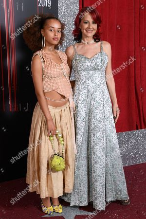 Stock Photo of Talia Grant and Carrie Grant