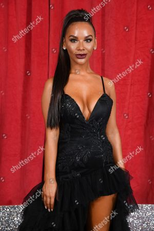 Editorial picture of The British Soap Awards, Arrivals, The Lowry, Manchester, UK - 01 Jun 2019