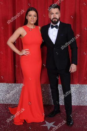 Shayne Ward and Sophie Austin