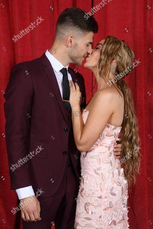 Stock Photo of Stephanie Davis and Owen Warner