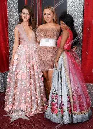 Stock Picture of Lauren McQueen, Ruby O'Donnell and Haiesha Mistry