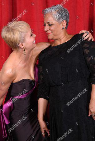 Stock Image of Lysette Anthony and Harvey Virdi